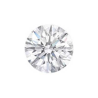 0.87CT. ROUND CUT DIAMOND H SI2