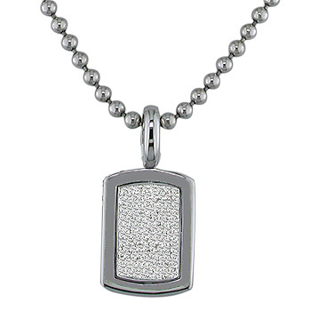 14K Gold Ball / Combat / Dog Tag Chain 3mm, 24-40in Main Image