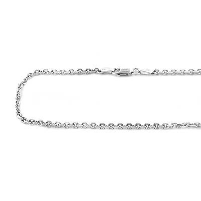 14K Gold Cable Chain, 20 -40 inches long 2mm wide. Main Image