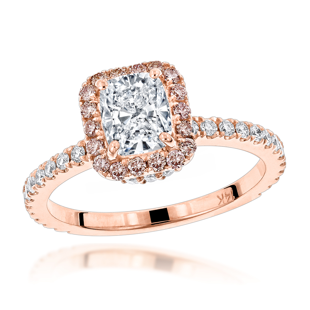 diamond rings promise ring jewellery avita engagement pink products goldpinkdiamond