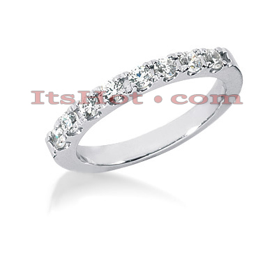 14K Gold Handmade Diamond Engagement Ring Band 0.40ct Main Image