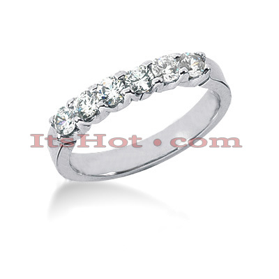 14K Gold Round Diamond Engagement Ring Band 0.60ct Main Image