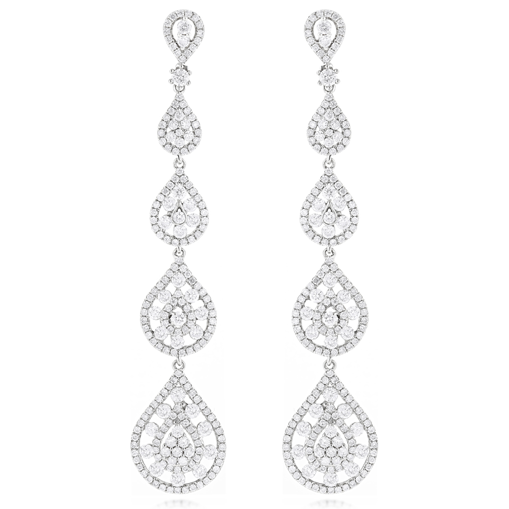 long diamond jewellery large earrings cid product gold
