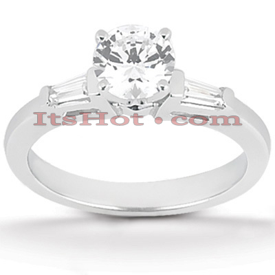 14K Gold Diamond Engagement Ring 0.70ct Main Image