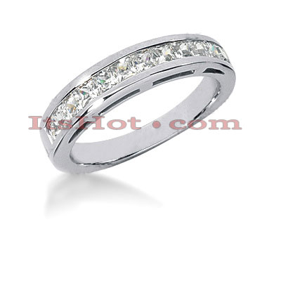 14K Gold Diamond Designer Engagement Ring Band 0.84ct Main Image