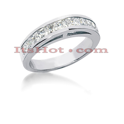 14K Gold Diamond Designer Engagement Ring Band 1.20ct Main Image