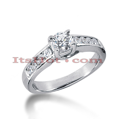 14K Gold Diamond Engagement Ring 1ct Main Image