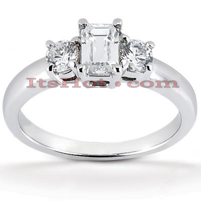 14K Gold Hadcrafted Prong Set Diamond Engagement Ring Mounting 0.20ct