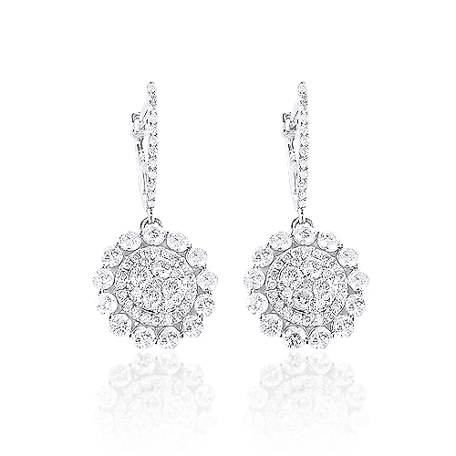 14K Gold Diamond Flower Earrings 1.75ct 14k-gold-diamond-flower-earrings-175ct_1