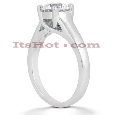 14K Gold Four-Prong Solitaire Engagement Ring 0.25ct