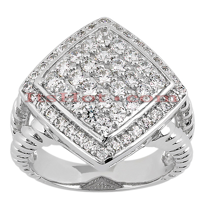 14K Gold Ladies Diamond Ring 1.07ct Main Image