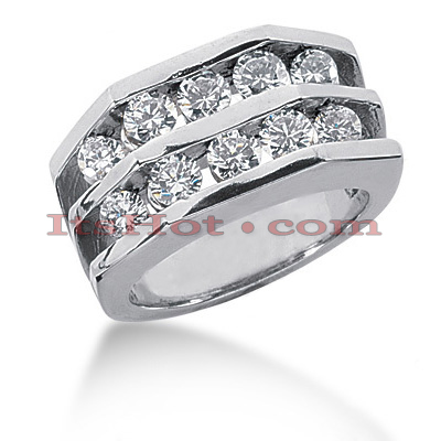 14K Gold Ladies Diamond Ring 1.30ct Main Image