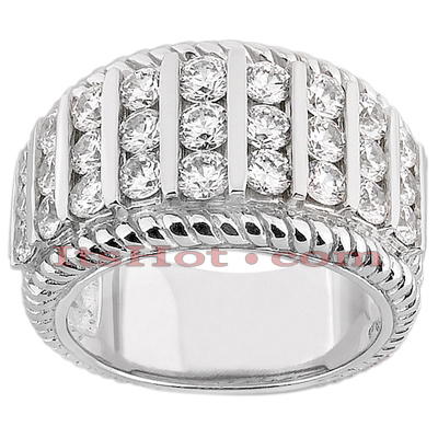 14K Gold Ladies Diamond Ring 1.86ct Main Image