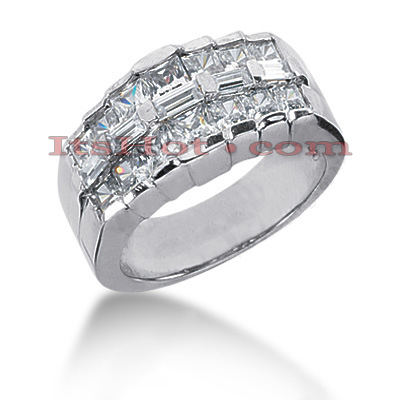 14K Gold Ladies Diamond Ring 2.12ct Main Image