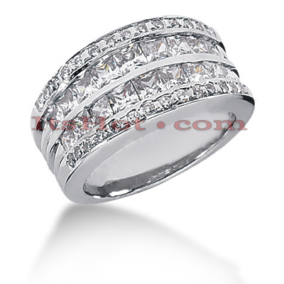 14K Gold Ladies Diamond Ring 2.38ct Main Image