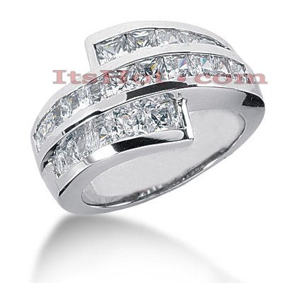 14K Gold Ladies Diamond Ring 2.42ct Main Image