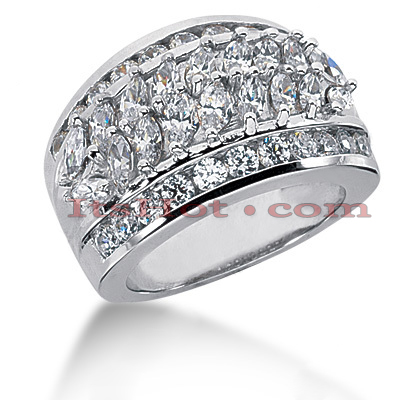 14K Gold Ladies Diamond Ring 2.73ct Main Image