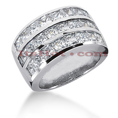 14K Gold Ladies Diamond Ring 4.08ct Main Image