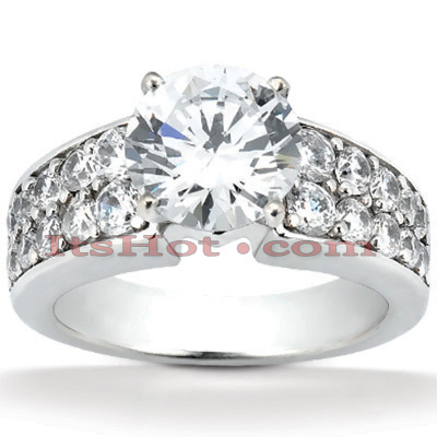14K Gold Preset Diamond Engagement Ring 1.46ct Main Image