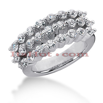 14K Gold Round Diamond Ladies Ring 1.25ct Main Image