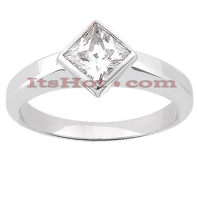 14K Gold Solitaire Engagement Ring 0.30ct main