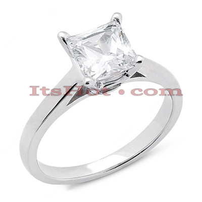 14K Gold Solitaire Engagement Ring 0.30ct Main Image