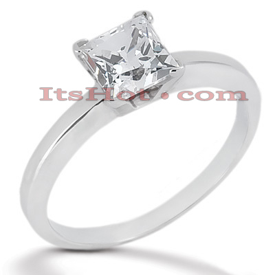 14K Gold Solitaire Engagement Ring 0.40ct main