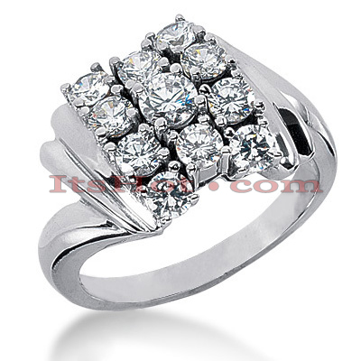 14K Gold Women's Diamond Ring 2.05ct Main Image