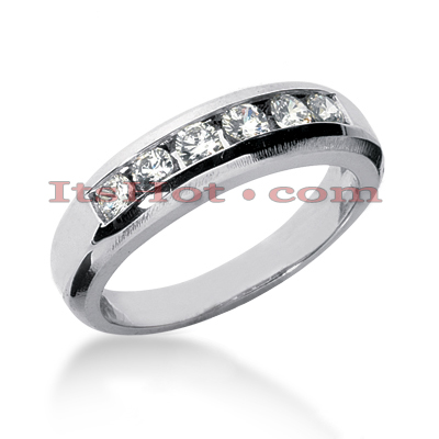 14K Gold Women's Diamond Wedding Ring 0.60ct Main Image