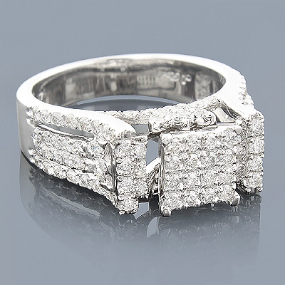 14K Pre-Set Diamond Engagement Ring 1.64ct Main Image