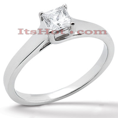 18K Gold Diamond Engagement Ring 0.75ct Main Image