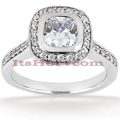 18K Gold Diamond Engagement Ring 1.01ct Main Image