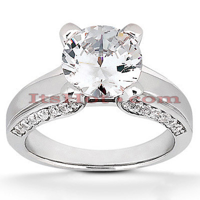 18K Gold Diamond Engagement Ring 1.05ct Main Image