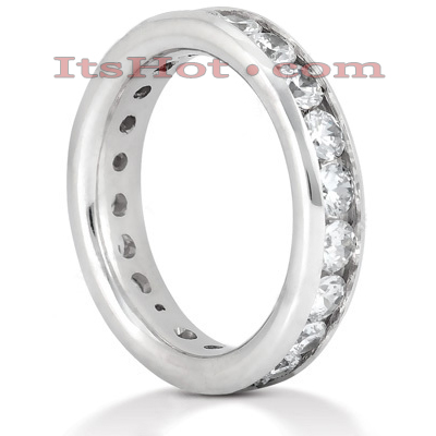 18K Gold Diamond Eternity Band 2.20ct Main Image