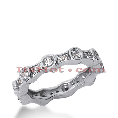 18K Gold Diamond Eternity Ring 0.45ct
