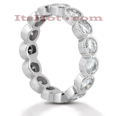 18K Gold Diamond Eternity Ring 2.10ct Main Image