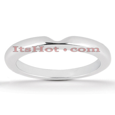 Thin 18k Gold Engagement Wedding Ring Main Image