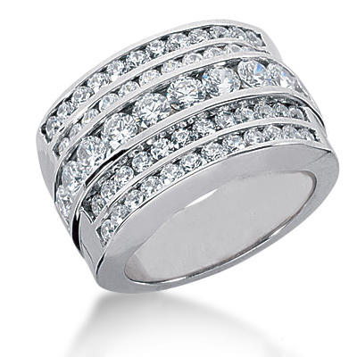 18K Gold Women's Diamond Ring 2.08ct Main Image