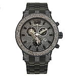 Joe Rodeo Broadway Mens Diamond Watch 5.0 ct