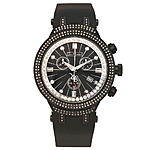 Joe Rodeo Diamond Watch for Men 2.20 ct Black Starburst Master