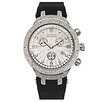 Joe Rodeo Master Mens Diamond Watch 2.20ct  Metallic Dial