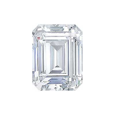 3.01CT. EMERALD CUT DIAMOND J SI1
