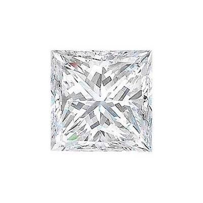 4CT. PRINCESS CUT DIAMOND G SI1