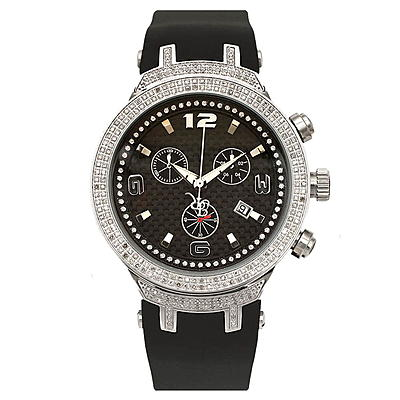 Joe Rodeo Master Mens Diamond Watch 2.20ct