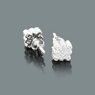 Affordable Diamond Earrings under 250 in 10K Gold 0.18ct
