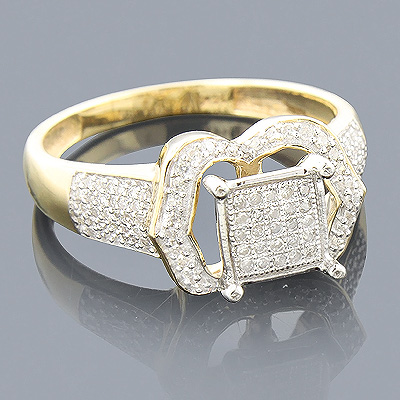 Affordable Diamond Engagement Ring 0.33ct Main Image