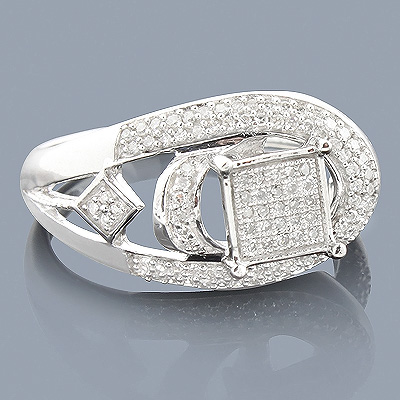 Affordable Diamond Engagement Ring 0.35ct