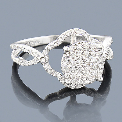 Affordable Diamond Engagement Ring 0.54ct 14K Main Image