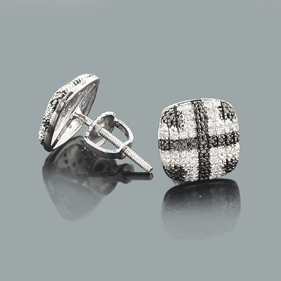 Affordable Real Diamond Earrings 0.16ct Sterling Silver