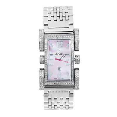 Aqua Master Watches Diamond Ladies Watch 2.75ct Flex Aqua Master Watches Diamond Ladies Watch 2.75ct Flex